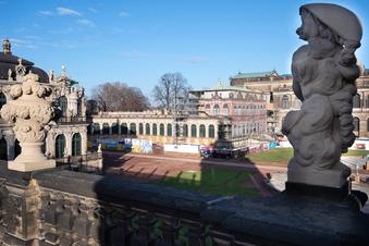 Räume für Dresdner Zwinger-Ausstellung fertig