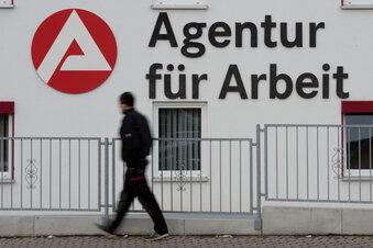 Weniger Arbeitslose in Sachsen