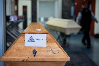 Covid-19-Todesfälle in Sachsen