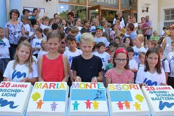 Montessori-Grundschule feiert