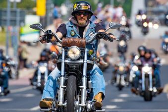 Das große Röhren bei den Harley Days