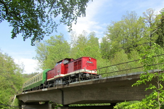 Bahn-Nostalgie im Müglitztal