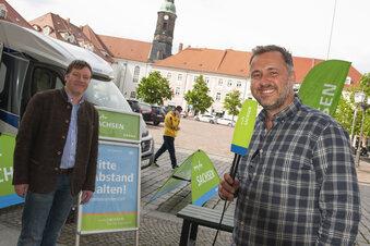 MDR-Kultmoderator sendet aus Großenhain