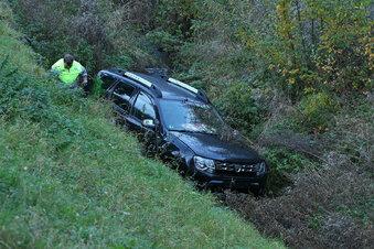 Dacia landet im Schloizbach