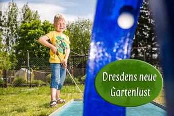 Dresdner Kleingärtner auf Kinder-Kurs