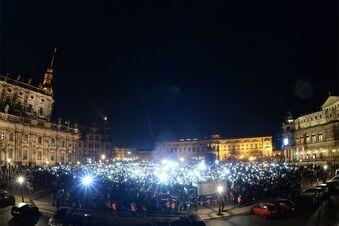 Aufruf zu Protesten gegen Pegida