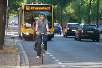 Wo wird's für Radfahrer in Dresden gefährlich?