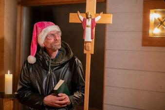 Achteinhalb Sachsen und ihr Weihnachten