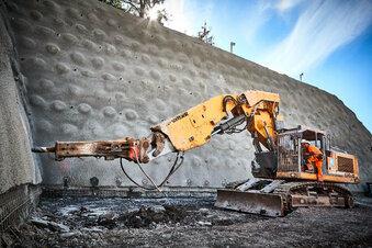 So läuft der Bau am Kohlbergtunnel