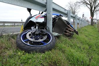 Mehr Unfälle mit Motorradfahrern