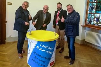 Waldheim: Spenden mit Spaßfaktor