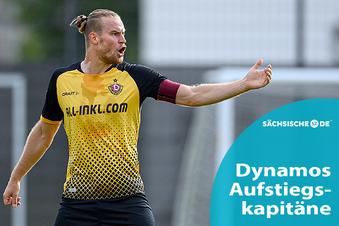 Die Anführer bei Dynamos Aufstiegen