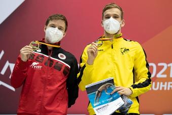 Dresdner Wasserspringer holen Gold