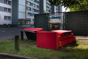 Sperrmüllproblem in Dresden bleibt ungelöst