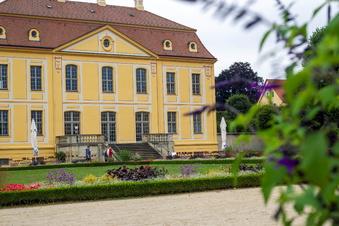 Café im Barockgarten Großsedlitz wieder zu