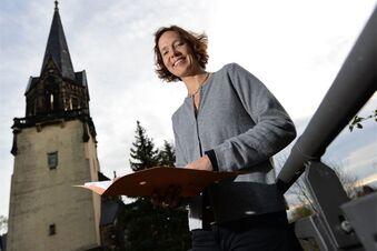 Turm der Friedenskirche wird saniert