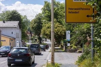 Berggießhübels Frust mit dem Verkehr nach Tschechien