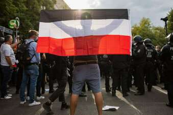 Reichsflagge: Verbot in Bayern kommt