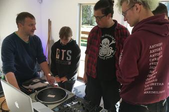 DJ-Workshop für Party-Nachwuchs