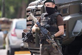 Regierung zieht Polizei in Istanbul zusammen