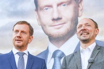 Wahldebakel: Kretschmer verteidigt Wanderwitz