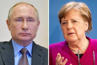 Merkel fordert Deeskalation in Ostukraine