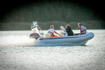 Ein neues Boot für die Olba-Retter