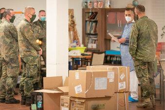 Soldaten treten in Freital Zivildienst an