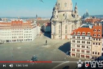 Video zeigt menschenleeres Dresden