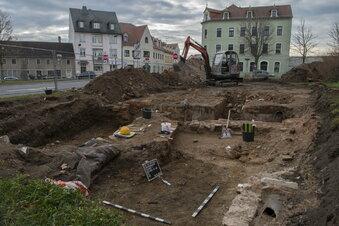 Wer gräbt da an der Meißner Straße?