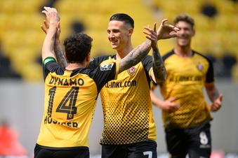 Nach Sieg: Dynamo nur noch ein Schritt vorm Aufstieg