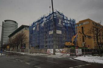 Halbes Hochhaus am WTC schon abgerissen