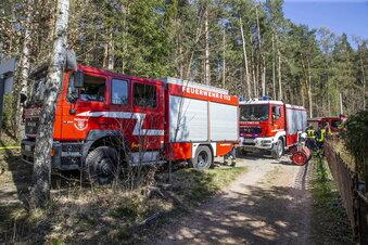 Feuerwehreinsatz unter Kriegsbedingungen
