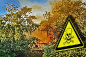 Orange Wolke über Leisnig war giftig