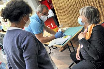 Große Impfaktion in Bad Muskau