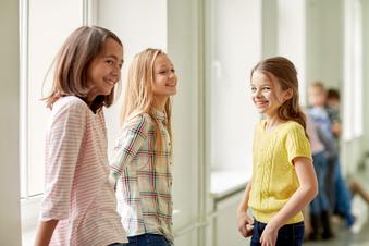 Die Pubertät beginnt schon bei Grundschülern