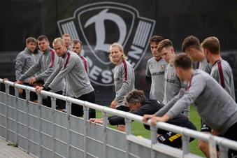 Dynamo darf vorm Spiel einmal trainieren