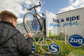Bautzen: Neue Fahrradbox am Bahnhof