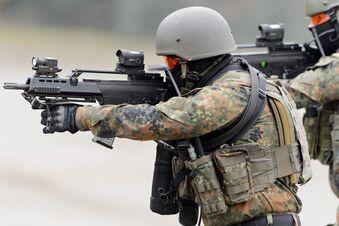 Umstrittene Bundeswehr-Übung