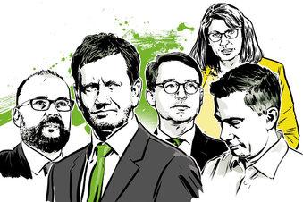 Fünf Gesichter der Corona-Krise in Sachsen