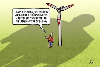 Der Streit um Sachsens Wind