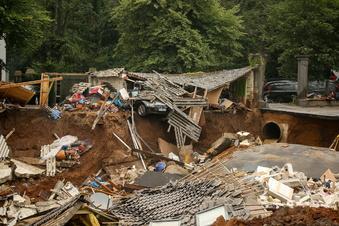 Flutgebiet: Sperrzone in Blessem bleibt bestehen