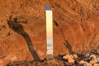 Rätsel um aufgetauchte Monolithen