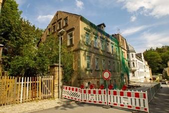 Bleibt die Kreuzstraße noch lange dicht?
