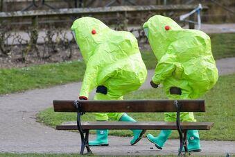 Briten finden angeblich Giftgaslabor