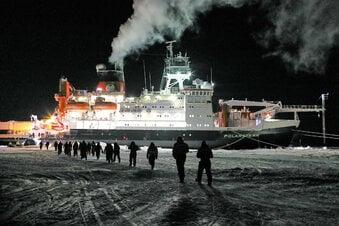 """Forscher können die """"Polarstern"""" verlassen"""