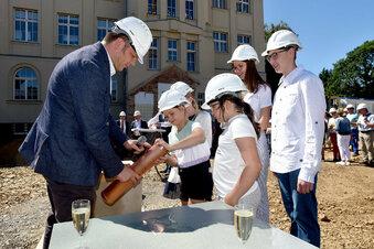 Baustart für die neue Weinau-Turnhalle