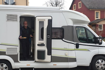 Freital: Wohnmobil-Restaurant hat geöffnet