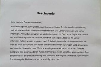 Konfrontation im Deutsch-Unterricht