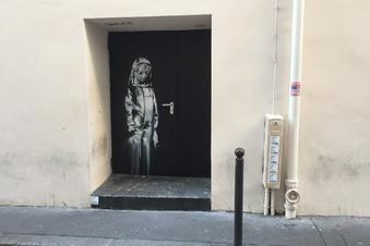 Banksy-Werk aus Nachtclub in Paris gestohlen